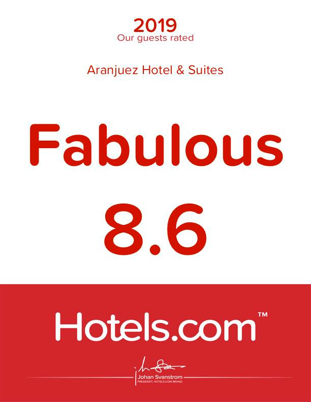 Rated Hotels.com 2019