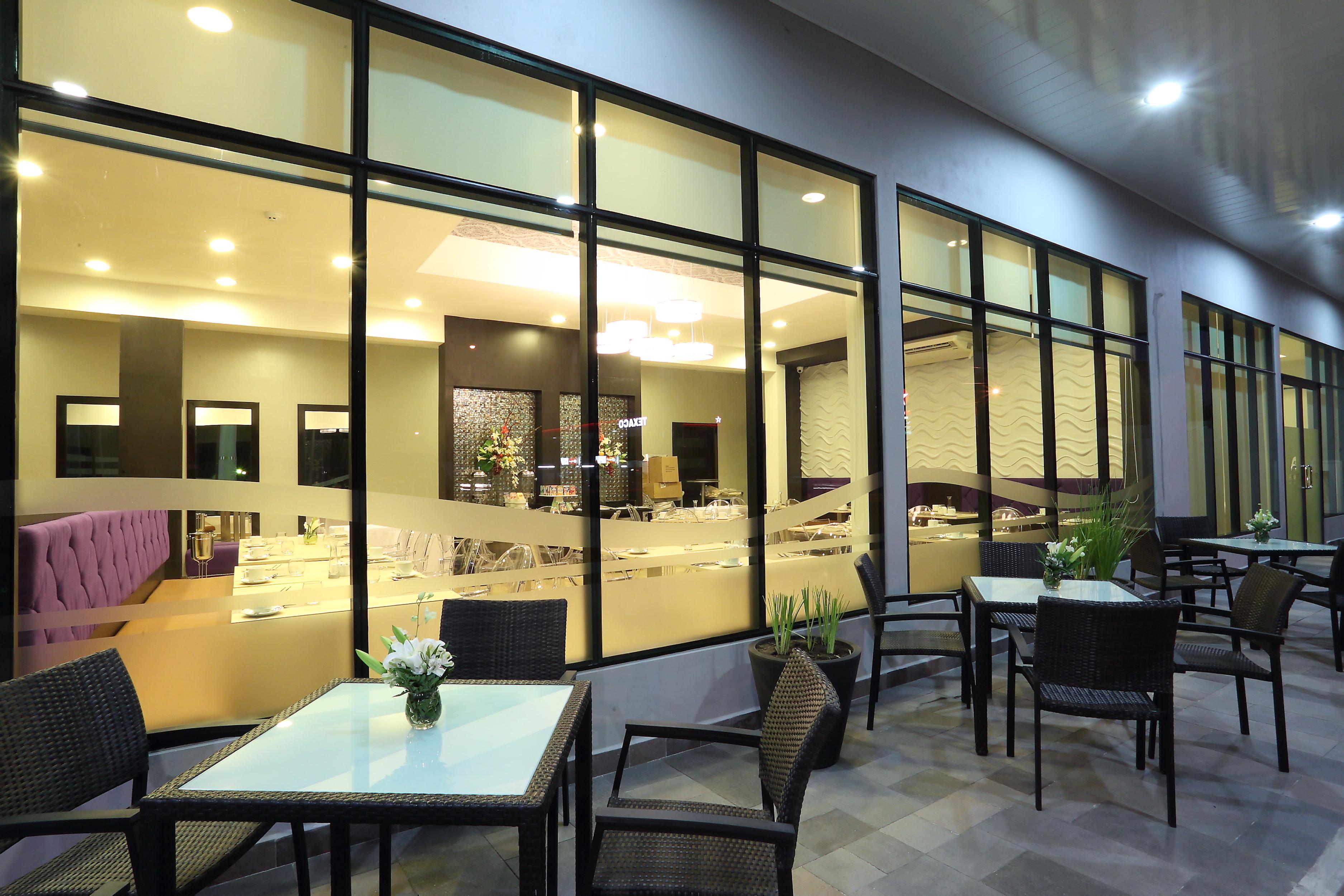 La Terraza del Restaurante Jarama en David Chiriguí, Panamá