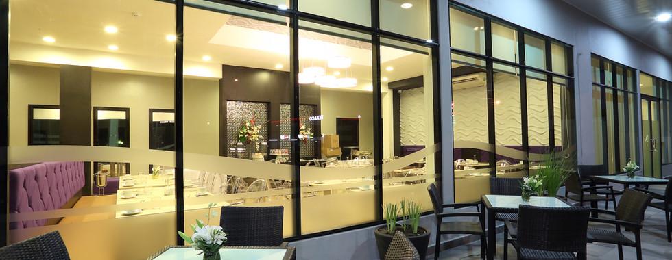 Terraza del Restaurante Jarama