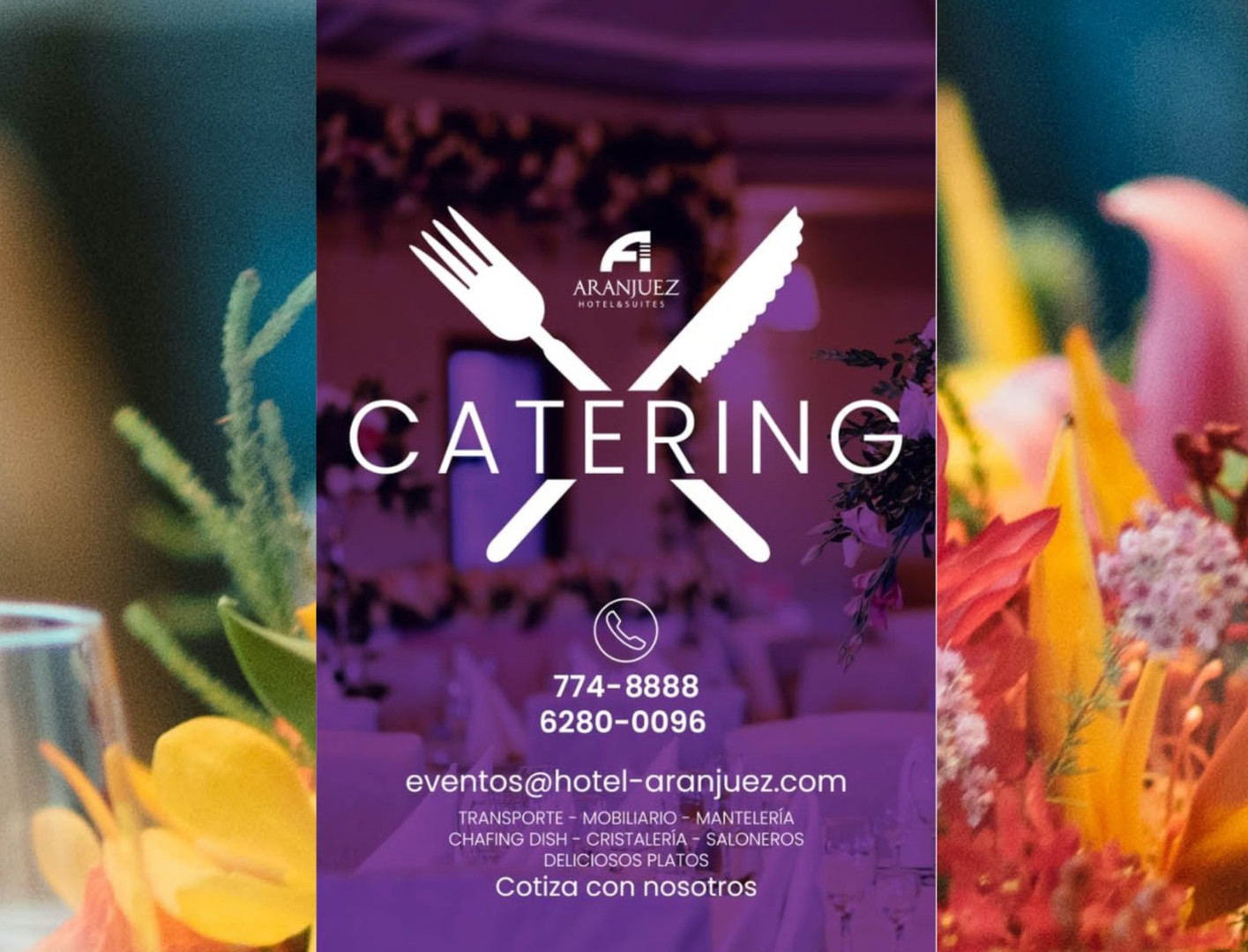 Catering Service in David, Chiriqui