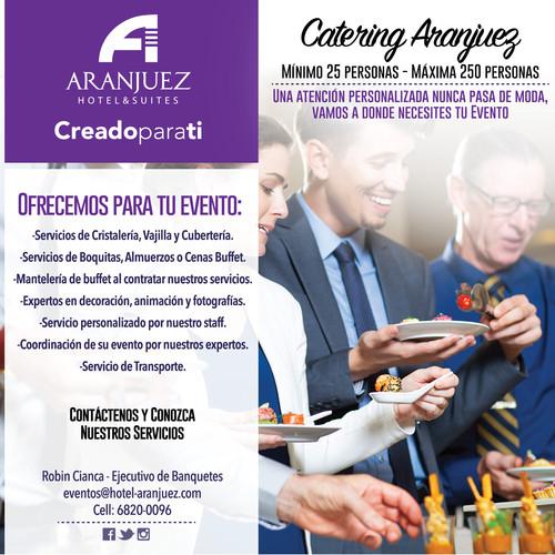 Nuevo servicio de catering para tus eventos