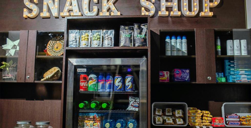 Nuevo Snack Shop en nuestro Lobby