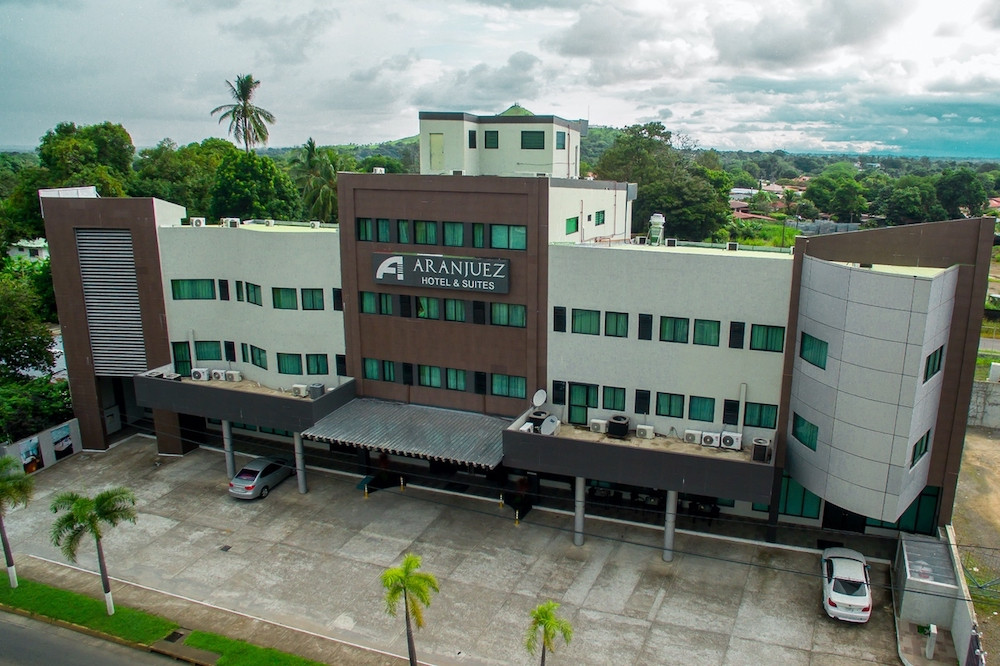 Aerial view of our facade