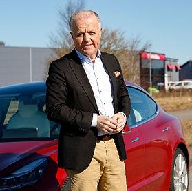 Bengt-Olof Isakson med bil