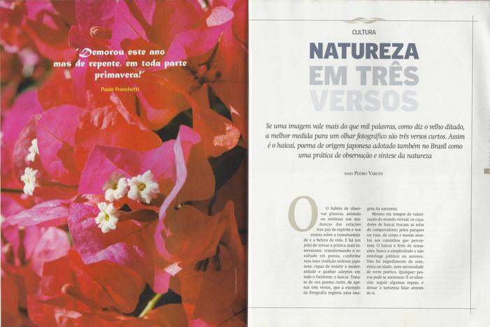 Natureza em três versos | A prática do Haicai