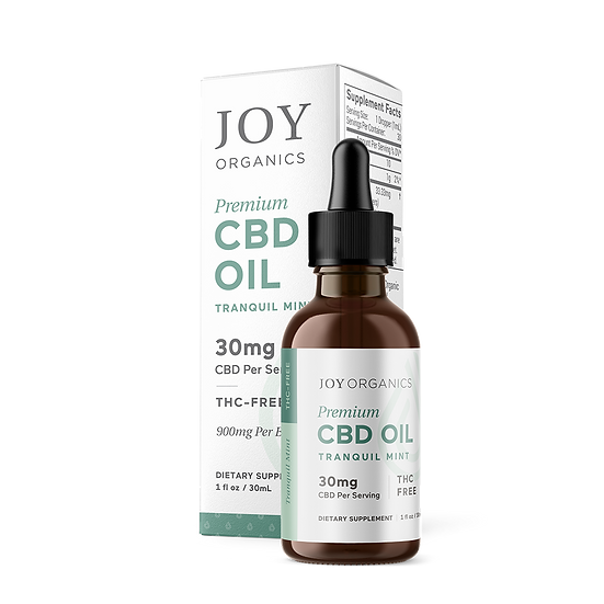 Joy Organics 900mg/bottle Tranquil Mint