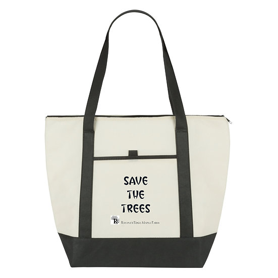 Save the Trees Insulated Zip Bag