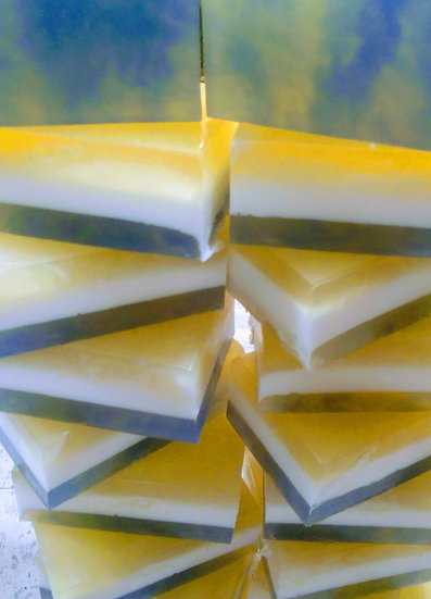 Bee Peppermint Honey Soap Block