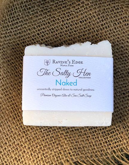 Naked-Premium Farm Harvested Aloe + Sea Salt Soap