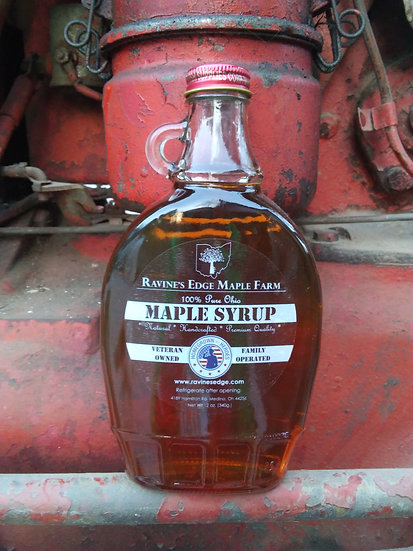 12oz Pure Maple Syrup