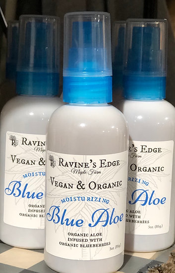 Organic Blue Aloe Gel