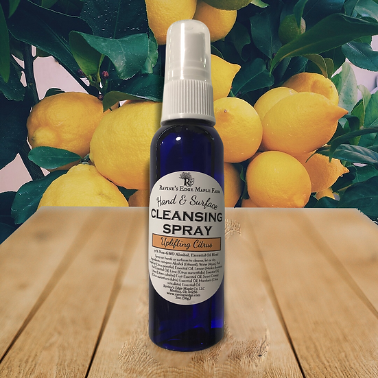 Uplifting Hand & Surface Cleansing Spray