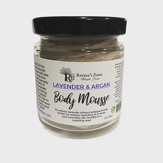 Lavender & Argan Body Mousse