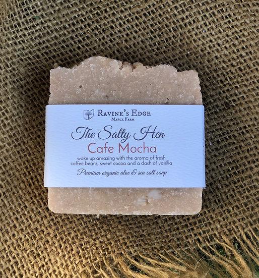 Cafe Mocha-Premium Farm Harvested Aloe + Sea Salt Soap