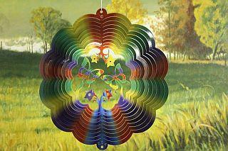 """12"""" Butterfly 3D Wind Spinner"""