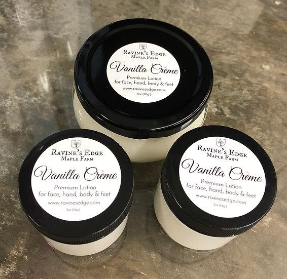 Vanilla Creme Premium Lotion