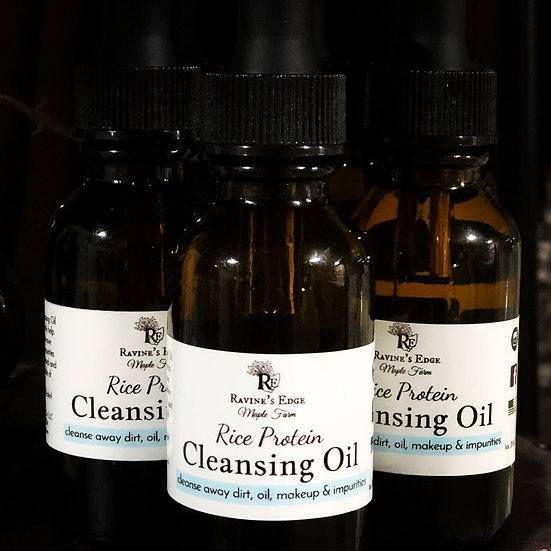 Rice Protein Cleansing Oil