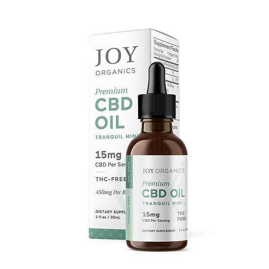 Joy Organics 450mg/bottle Tranquil Mint