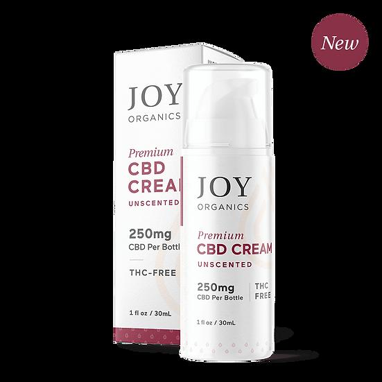 Joy Organics Premium Cream Unscented 250mg