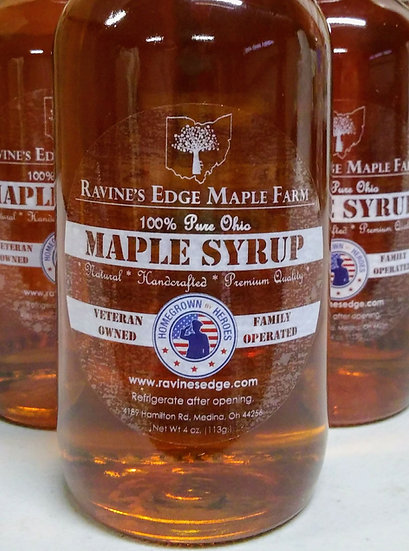 4oz. Pure Maple Syrup