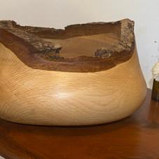 Rustic Raw Edge Bowl