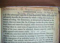 """DEMOCRACY IS RIDICULOUS"""
