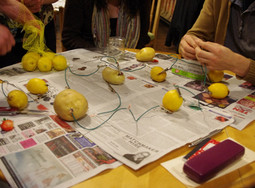 """""""Playing with Food: Making Machines with Fruits and Vegetables"""" at The Wayward School"""