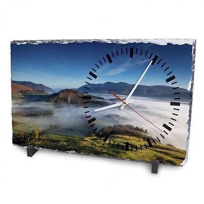 clock rock slate