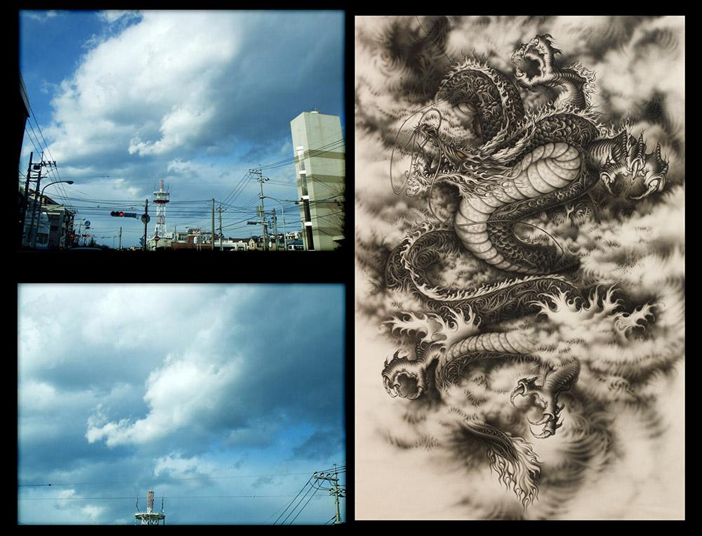 〜龍を描いていると龍が現れる〜#2