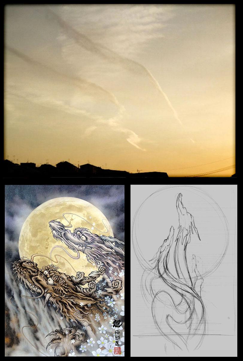 〜龍を描いていると龍が現れる〜#6