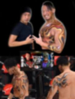 丸藤正道body paint
