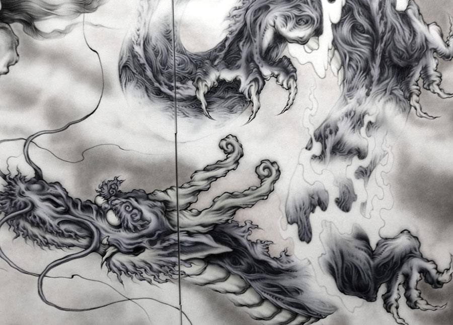 四神獣:青龍