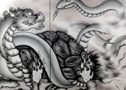 四神獣:玄武