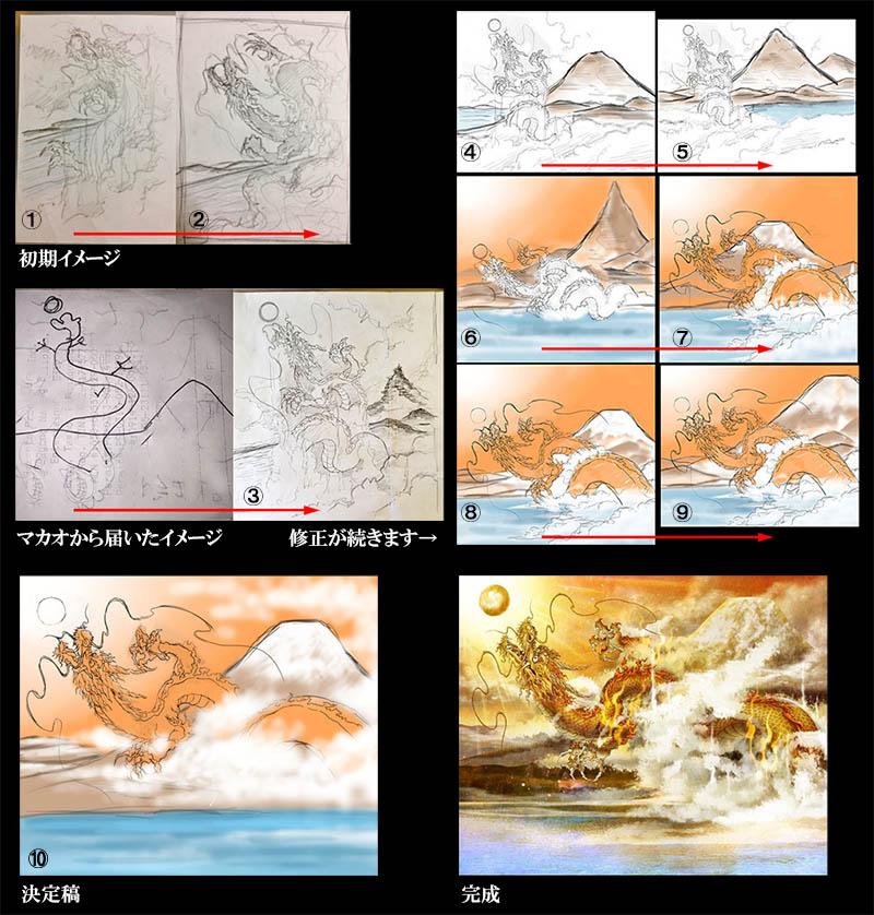 〜龍を描いていると龍が現れる〜#7前半