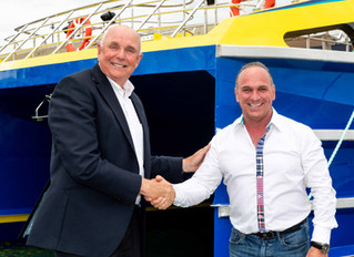 Second large ferry export for Wight Shipyard