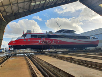 Ferry flagship gets the Wight treatment
