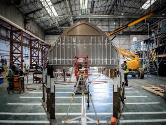 Explorer Vessel Project Ocean in build