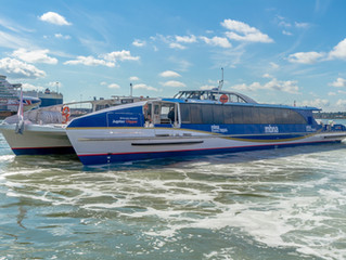 Wight Shipyard delivers iconic ferries for London