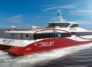 Its another Red Jet for Wight Shipyard