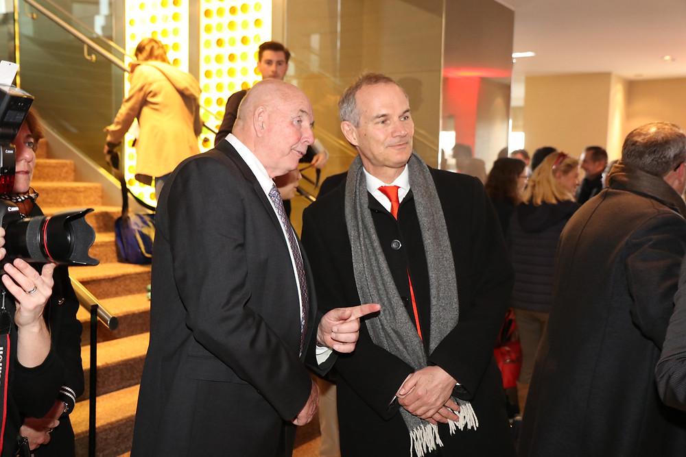 Picture CEO WSC Peter Morton, HM Ambassador Leigh Turner