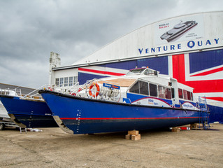 Shemara Refit awarded major refit program by MBNA Thames Clippers
