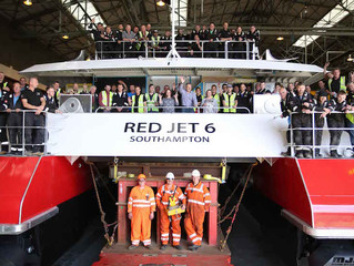 Red Jet 6 to be named on Monday 4th July 2016
