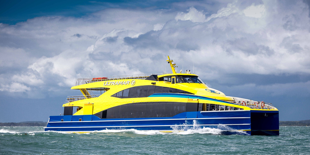 Ultramar Fast Ferry built by Wight Shipyard IOW