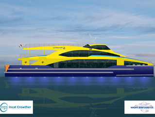 Wight Shipyard Co wins second export order with two fast ferries for Mexico