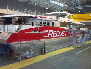 Red Jet 6 nearing completion