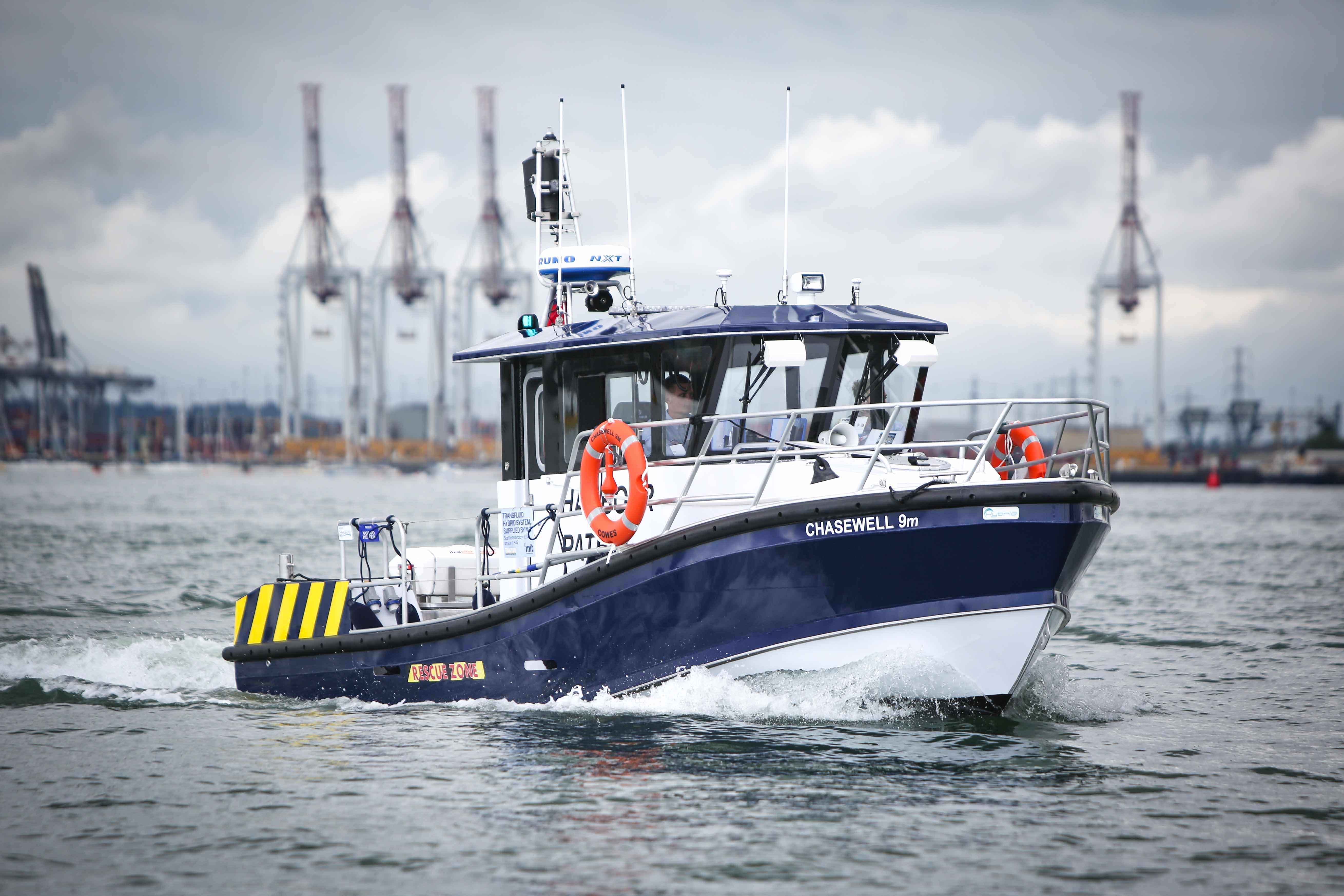 9m Hybrid Patrol Vessel
