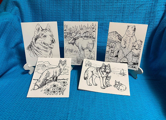 Animal Cards Variety Pack
