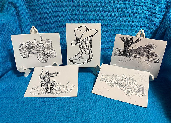 Country Cards Assortment