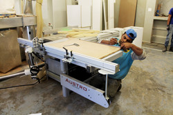 Table Saw in use