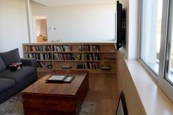 Birch Veneer Bookshelf
